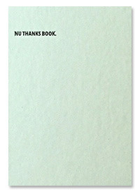 [3차 입고] NU THANKS BOOK